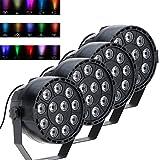 Lixada 15W DMX-512 RGBW LED DJ Lichteffekt