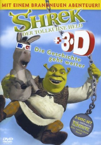 Bild von Shrek - Der tollkühne Held + Shrek 3D [2 DVDs]
