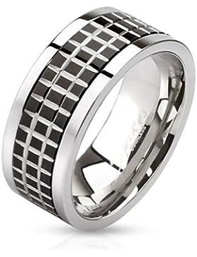 Coolbodyart Edelstahl Ring silbe