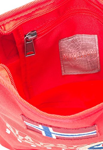 Napapijri North Cape Crossover Umhängetasche 20 cm Red Pepper