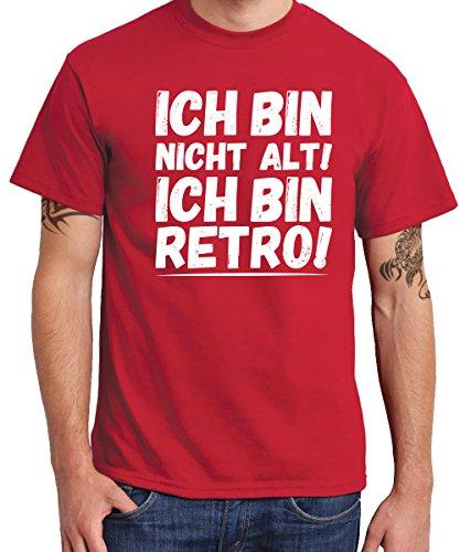 -- Ich bin retro! -- Boys T-Shirt Rot