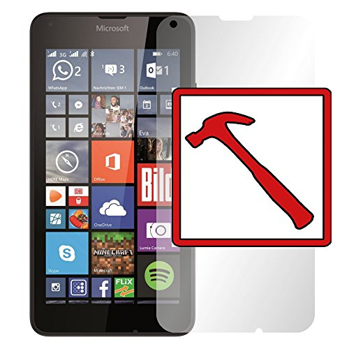 "Slabo PREMIUM Panzerglasfolie Microsoft Lumia 640 Echtglas Displayschutzfolie Schutzfolie Folie ""Tempered Glass"" KLAR - 9H Hartglas"