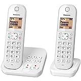 Panasonic KX-TGC422 Téléphone sans Fil Dect Blanc