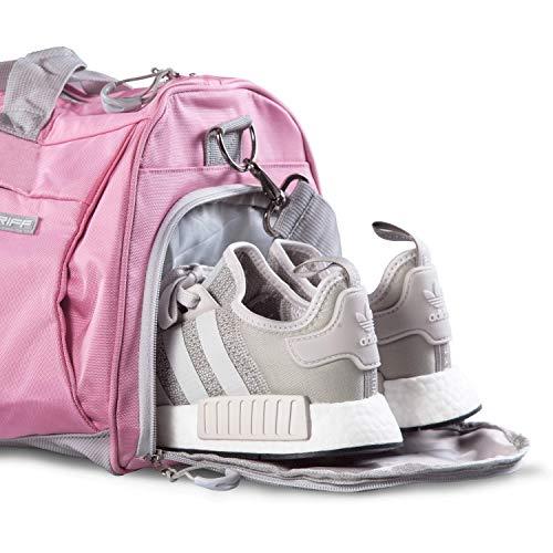Fitgriff Damen Fitnesstasche Pink Schuhfach