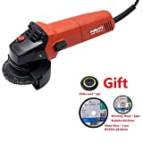 Hilti AG 100-8S Angle Grinder 850W Powerful Cutting Sawing Grinding with Chiba Leaf, Grinding Sheet and Metal Slice