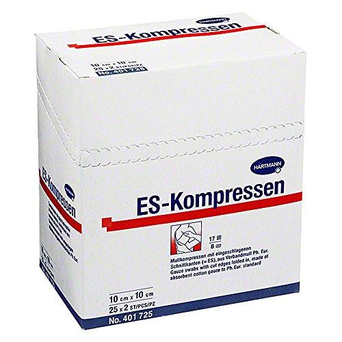 ES-Kompressen Hartmann steril 10 cm x 10 cm, 50 St.