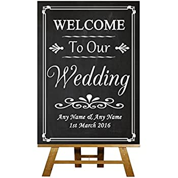 Chalk Sketch Cheese Board Song Personalised Wedding Sign