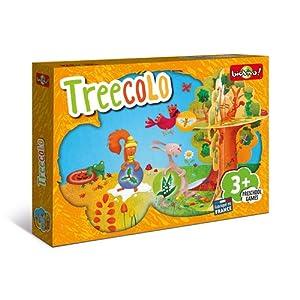 Bioviva 281140 Juego de Cartas Preescolar Treecolo, Multicolor