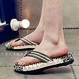 Flip-Flops, Herren-Strandschuhe, Fußmassage Schuhe, Herren-Sommerschuhe, einundvierzig, grün