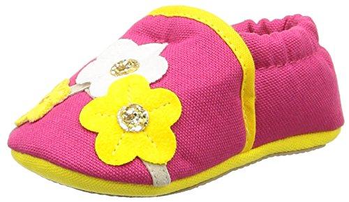 Giesswein Bielefeld, Chaussures Bébé quatre pattes (1-10 mois) bébé fille Rose (364 Himbeer)