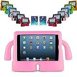 REALMAX® 3D Kids Cute Stand a prueba de golpes de protección de las asas de la manija de la cubierta para Apple iPad 2/3/4
