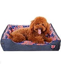 Sannysis Cama Mascotas Perros Accesorios, Almohadillas Mascotas Perros Accesorios Deportiva Perros Cama de Perrito Almohadilla