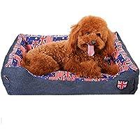 cama mascotas perros accesorios, Sannysis almohadillas mascotas perros accesorios deportiva perros cama de perrito almohadilla caliente cama para perro casa mascota