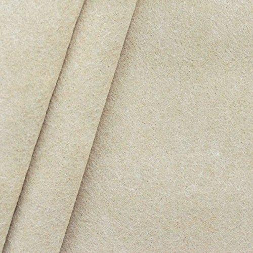 Bastel Filz Stoff Stärke 3,0mm Breite 90cm Meterware Beige