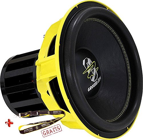 Ground Zero GZNW 38 Neo SPL 38cm 2 x 1Ohm Subwoofer High End 3500 Watt RMS