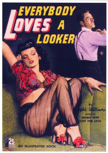 Everybody Loves a Looker Plakat Pulp Poster (11 x 17 Inches - 28cm x 44cm) Retro Book Cover