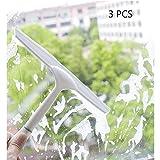 CLCYL Vitres Fenêtre Nettoyant Essuie-Verre Ménage Nettoyant Vitres Fenêtre Artefact Miroir De Nettoyage Outil De Nettoyage 3 Pièces