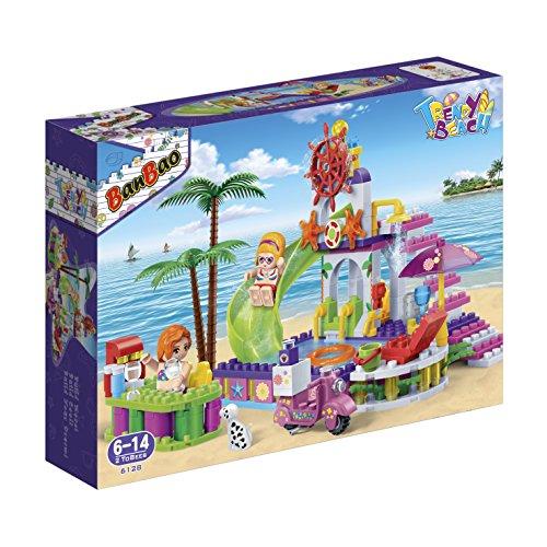 Banbao 6128 - strand schwimmbad, Konstruktionsspielzeug Lego Schwimmbad