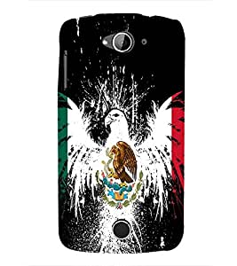 Vizagbeats Eagle and snake Back Case Cover for Acer Liquid Z530