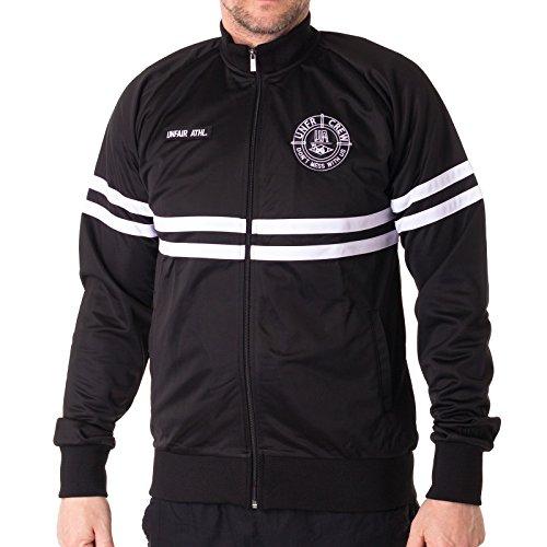 Unfair Athletics Herren Zipper DMWU Tracktop Black White, Größe:XL