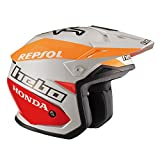 Hebo Montesa Team II Casque de moto trial Blanc