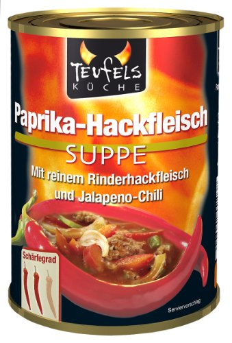 Preisvergleich Produktbild Teufels Küche Paprika-Hackfleischsuppe