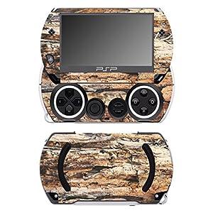 Disagu SF-14232_1048 Design Folie für Sony PSP Go – Motiv Holz No.5 transparent