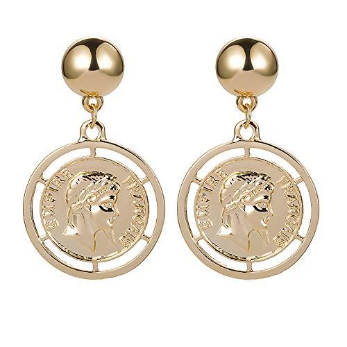 TUANTALL Piercing-Ohrringe Schmuck Ohrringe Elegante Süße Klassische Charmante Für Geschenk Mode-Ohrringe Den Abschluss Nützliche Hübsche Leichte Ohrringe Gold -