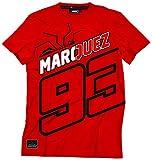 Athena T-Shirt Marquez, Rosso, XXL