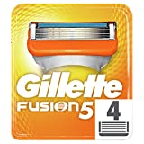 Gillette Fusion5 Razor Blades for Men, 4 Refills Packaging May Vary