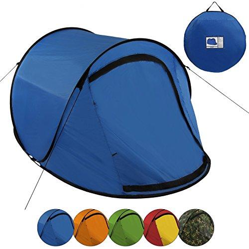BB SPORT Pop Up Zelt JUMP SUITE für 2 Personen Wassersäule 3000mm - in verschiedenen Farben