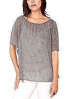 s.Oliver Premium Damen Regular Fit Bluse Chiffon
