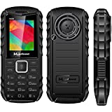 MUPHONE M290 Basic Feature Mobile Phone With DUAL SIM, 1.8 Inch Display, Speed Dialing, Auto Call Recording, FM Recording, 1200 MAh Battery, Expandable Memory,Big Speaker, Big Torch, BLUETOOTH, VIBRATION, CAMERA, BIS CERTIFIED & 1 YEAR WARRANTY (Black