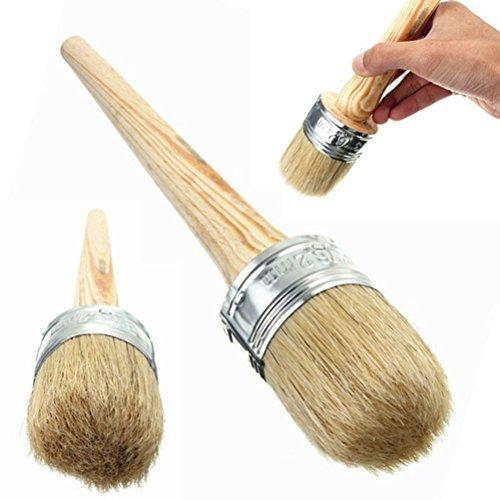 rosenice Kreide Farbe Wachs Pinsel Holz Pinsel mit natürlichen Borsten für Malerei Home Decor