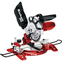 Precise Engineered Einhell TH-MS2112 Electric Cross Cut Mitre Saw 210mm Blade 1400w 240v [Pack of 1] - w/3yr Rescu3® Warranty