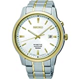 Best Seiko Of 2 Tones - Gents Mens Two Tone Seiko Kinetic Watch on Review