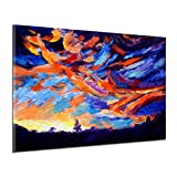 Zuionk Peinture à l'huile pour imprimante à Jet d'encre Multicolore, Multicolore, 60 x 40 cm