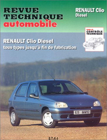 Revue Technique Automobile, CIP 534.4 : Renault Clio diesel