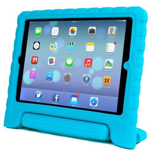CO.JOY Soporte Antichoque Forro Infantil Funda protectora para Apple iPad 2 / iPad 3 / iPad 4 (Apple iPad 2/3/4, azul)