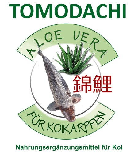 Aloe Vera Extrakt für Koi, Unterstützung der körpereigenen Immunabwehr der Koi mit der Kraft der Aloe Vera, Tomodachi Futterzusatz, 1 Liter