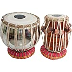 Made in india,easy for carry, fully tuned, good quality tabla set, good quality handmade metal drum & sheesham dayan, high quality cushions and covers, special handmade puddis (drumheads), special sheesham dayan (treble - right wooden drum) head ...