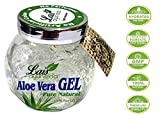 #10: 100% Natural Aloe Vera Hair Care & Skin Care Gel,150gm - 99% Organic, No ARTIFICIAL COLOR, NO PERFUME, NO XANTHAN, so it Absorbs Rapidly with No Sticky Residue