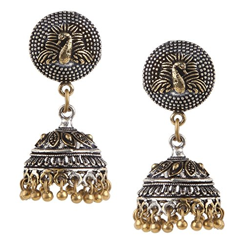 Sunny Indian Bollywood Gold Plated Blue Kundan Meenakari Earring Women Wedding Jewelr Soft And Light Costume Jewellery Hair & Head Jewellery