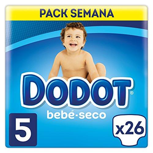 Dodot Pañal bebé-seco Talla 5 11-16 kg 26u