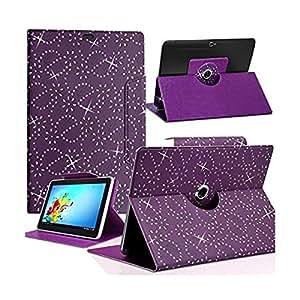 Seluxion - Housse Etui Diamant Universel S couleur Violet pour Tablette Archos 70 Helium 4G