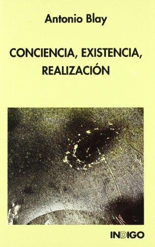 Portada del libro Conciencia, Existencia, Realizacion