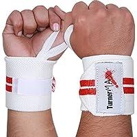 TurnerMAX Handgelenk Support Packungen mit Klettverschluss Handgelenkriemen (Packung mit 2 Handschlaufen) preisvergleich bei billige-tabletten.eu