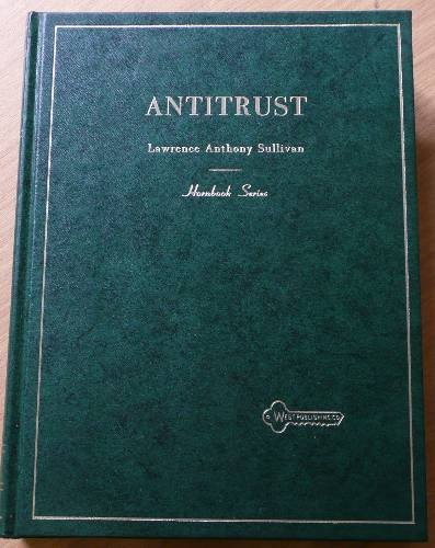 Handbook of the Law of Antitrust