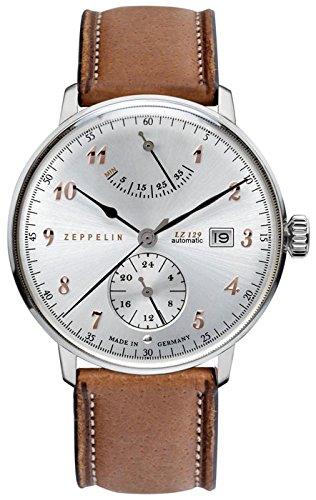 Zeppelin Mens Automatic Watch LZ129 Hindenburg Ed. 1 7062-5
