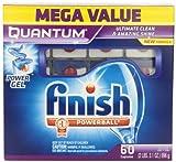 #7: Finish Quantum Dishwasher Detergent Mega Pack, 60-Count